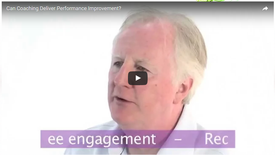 Can Coaching Deliver Performance Improvement
